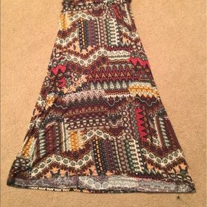 Love Culture Skirts - Light weight patterned maxi skirt